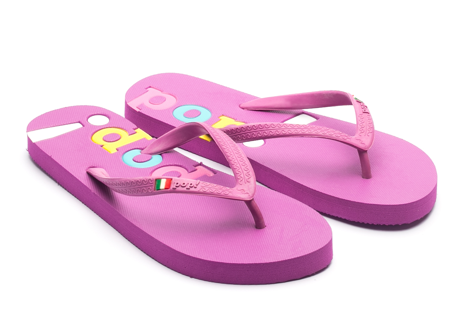 bc4640829b7e6 POP Purple Flip Flop - BRANDS